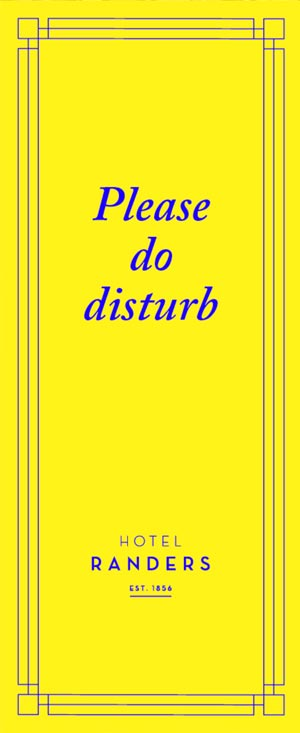 please do disturb