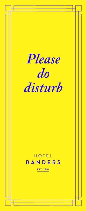 please do disturb